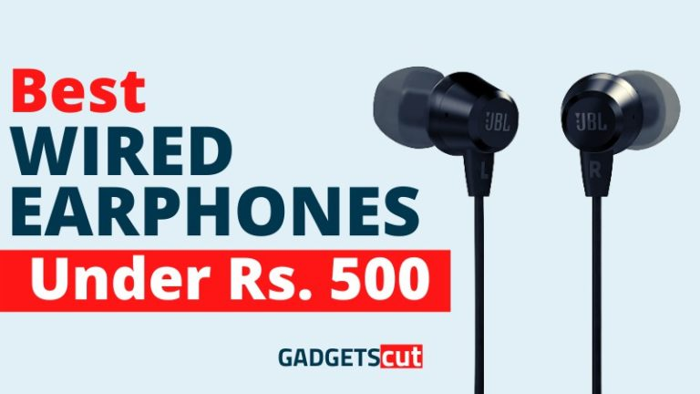 Read more about the article Top 5 Best Wired Earphones under 500 in India – Reviews 2021