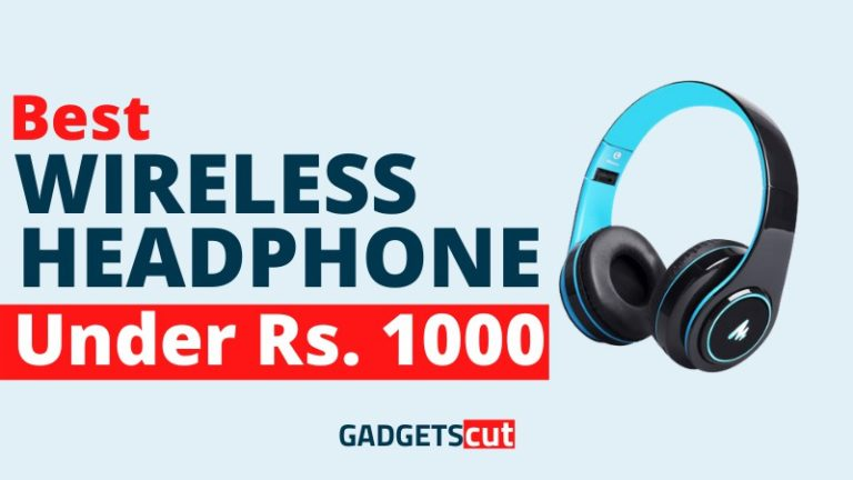 Read more about the article Best Wireless Headphones under 1000 Rs. in India – Reviews 2021