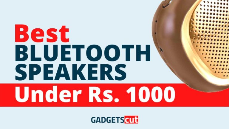 Best Bluetooth Speakers under 1000 Rs. In India – Reviews 2020
