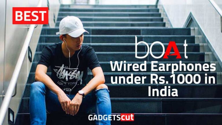 Best 4 boAt Wired Earphones under Rs.1000 in India