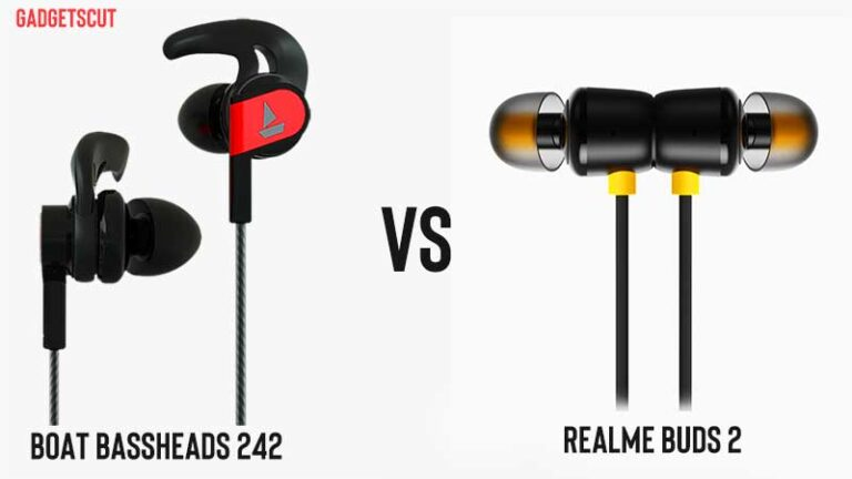 Read more about the article In-Depth Comparison: boAt Bassheads 242 vs Realme Buds 2