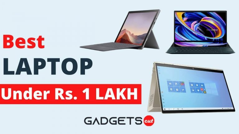 Read more about the article 10 Best laptops under 1 lakh in India October 2021